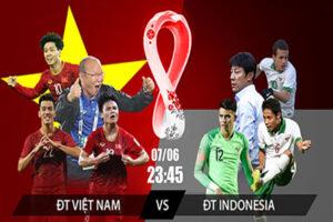 Bóng đá đội tuyển Việt Nam - Indonesia