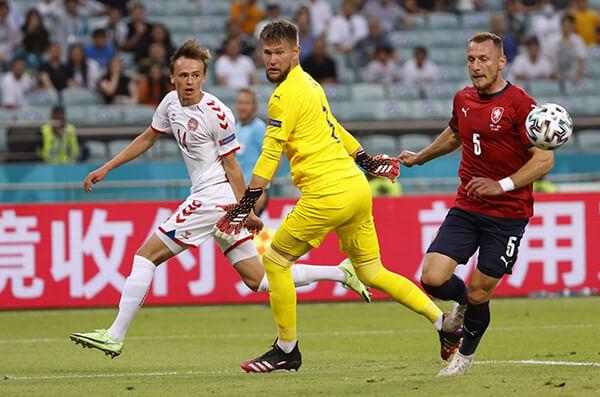 Kết quả Đan Mạch vs CH Séc