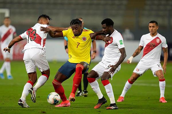 Kết quả Colombia vs Peru