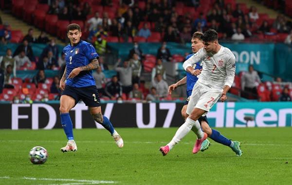 Kết quả Ý vs Tây Ban Nha