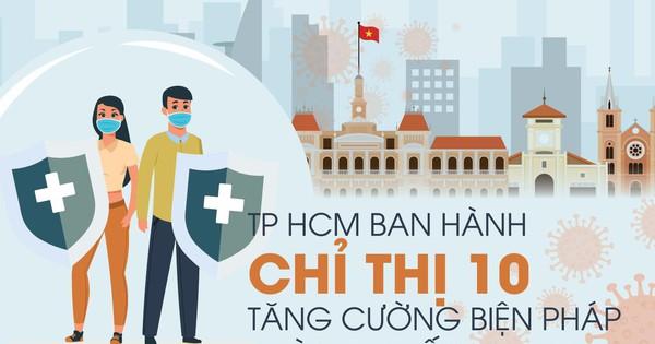 TP.HCM: Tiếp tục áp dụng Chỉ thị 10 sau 0h ngày 29/6